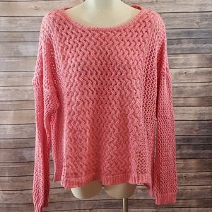 MAURICES Open Knit Pullover Sweater size 3